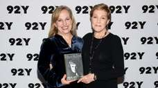 Emma Walton Hamilton and her mom, Julie Andrews,
