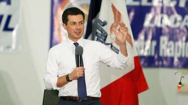 Democratic presidential candidate South Bend, Ind., Mayor Pete