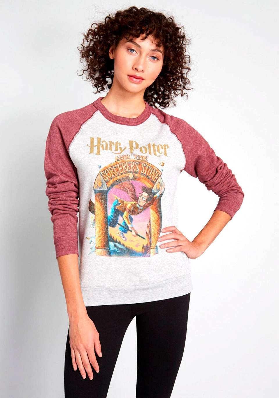 This Hogwarts fleece pullover will work its magic