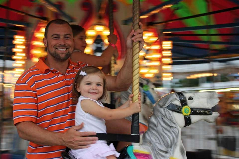Year-old Emma and her father Jon Acquafredda, 38,