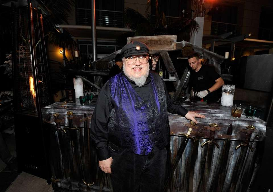 Writer George R.R. Martin attends the