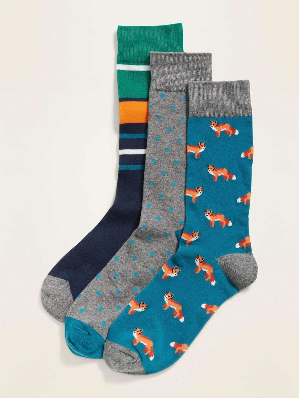 Slip into a pair of socks that show
