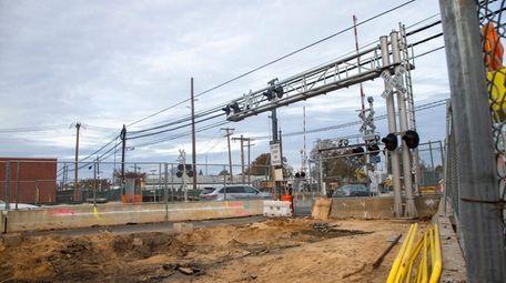 Construction begins at the Long Island Rail Road's