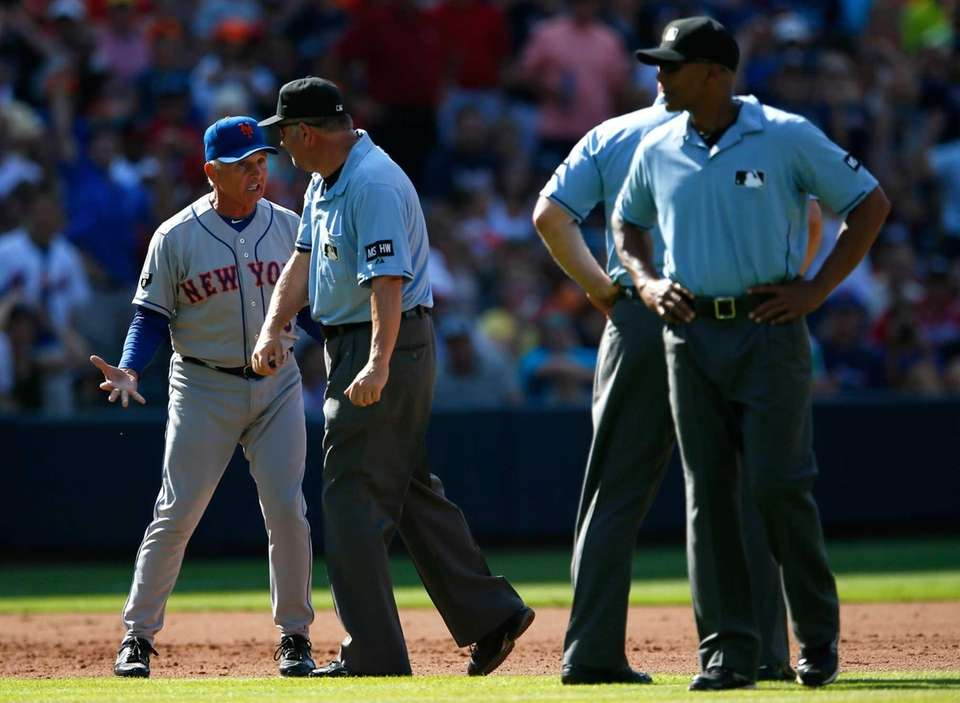 Terry Collins is ejected in the fifth inning
