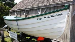 The Capt. Wm. Talmage is on display at