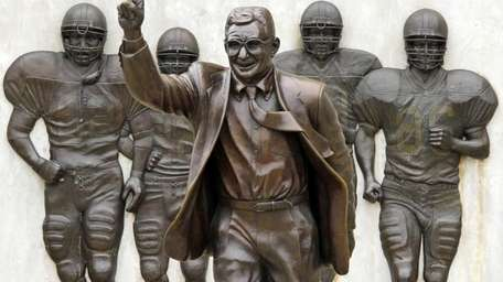 This is a statue of the late Penn
