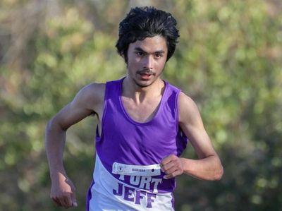 Grant Samara of Port Jefferson took third place