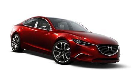 Mazda's Takeri concept, the basis of the next