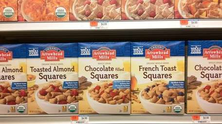 French Toast, Toasted Almond and Chocolate are new