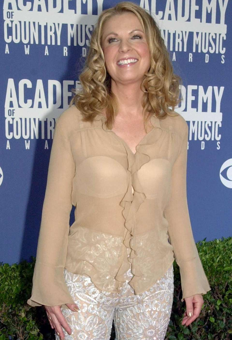 Country singer Patty Loveless arrives at the 36th