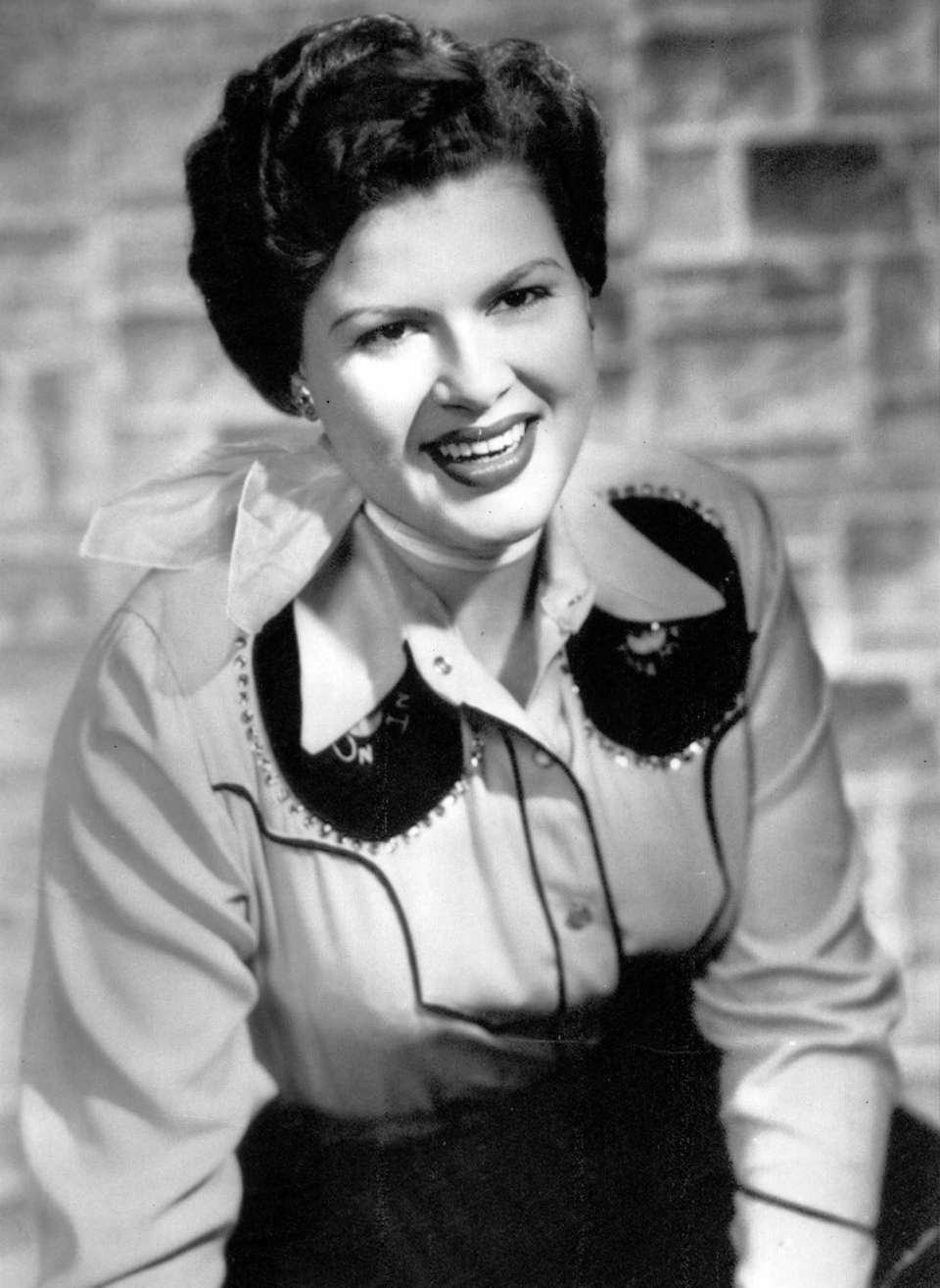 Country singer Patsy Cline, who was posthumously inducted