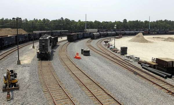 Brookhaven Railroad Terminal, a 3.4-mile rail spur and