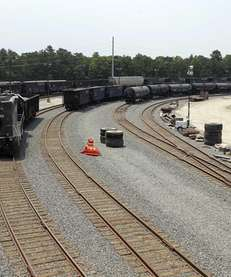 Brookhaven Railroad Terminal, a 3.4-mile rail spur and