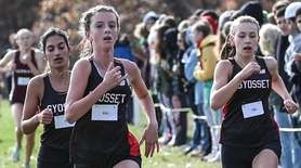 Syosset girls take second, third and fourth at