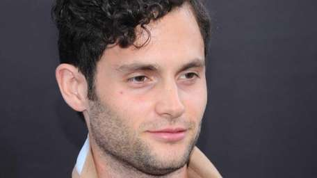 Actor Penn Badgley attends the premiere of
