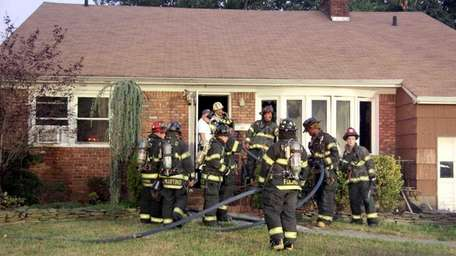 The Rockville Centre Fire Department responded to a