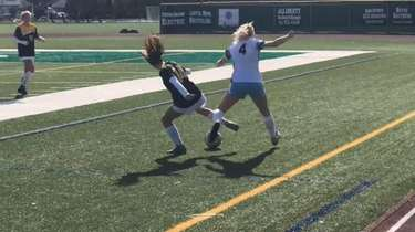 Highlights from St. Anthony's girls soccer's 9-5 win