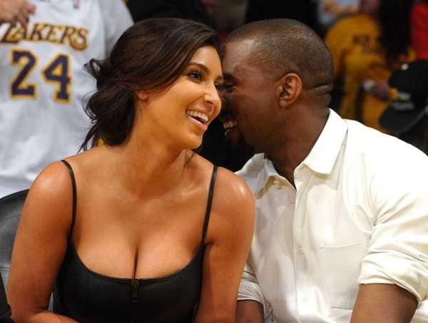 Kim Kardashian gets love from Kanye West as