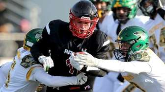 Pat-Med RB Angelo DeVita powers his way to