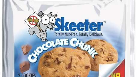 Chocolate Chunk cookies by Skeet Snacks.