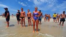 Long Island lifeguards participate in this year's Jones