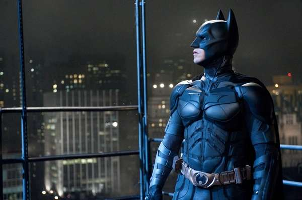"Christian Bale as Batman in ""The Dark Knight"