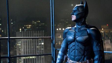 Christian Bale as Batman in