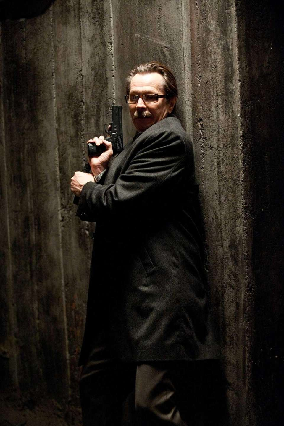 GARY OLDMAN as Commissioner Gordon in Warner Bros.
