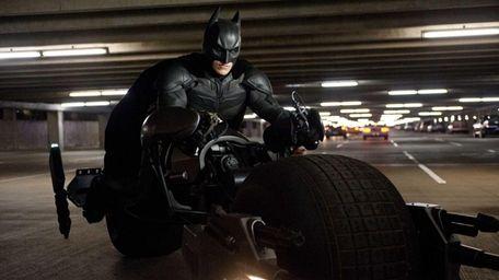 "Christian Bale as Batman in ""The Dark Knight"