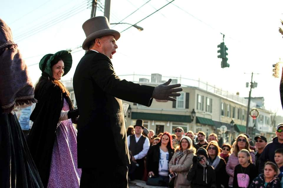 The annual Dickens Festival takes over Port Jefferson