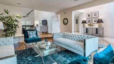 A Manhasset home after being staged on a