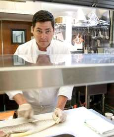 Roy Wohlars, executive chef at South Edison restaurant
