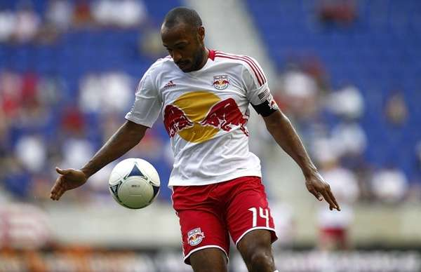 Thierry Henry #14 of the New York Red