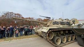 A World War II M4 Sherman tank, M47