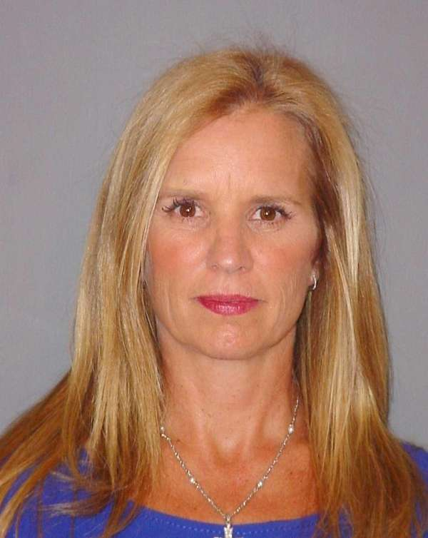 A New York State police mug shot of