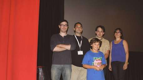 Members of the production staff and cast of