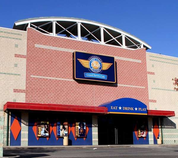 An exterior view of the Dave & Buster's