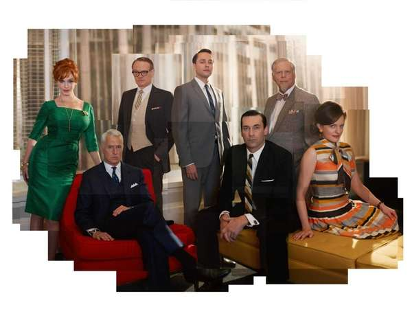 The cast members of AMC's quot;Mad Men.quot;