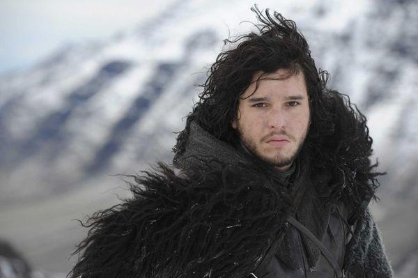 Kit Harington plays Jon Snow in