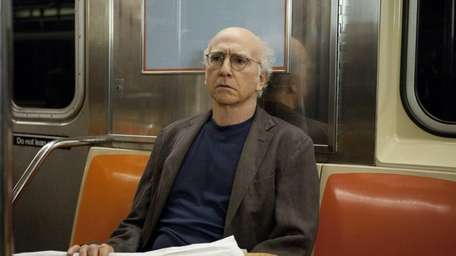 Actor Larry David in a scene from his