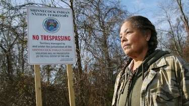Rebecca Hill-Genia, American Indian Movement advocate and a