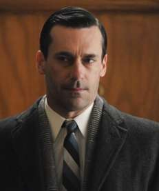 Jon Hamm as Don Draper in a scene