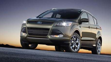The new Ford Escape with a 1.6-liter engine