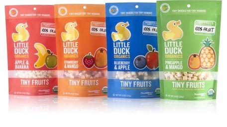 Little Duck Organics Tiny Fruits make great snacks