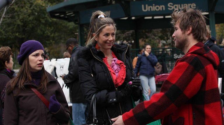 Tammy Blanchard, left, and Mira Sorvino in