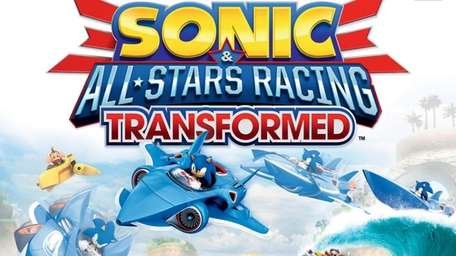 Sonic & All-Stars Racing Transformed features Sonic the