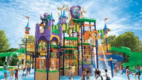 The Count's Splash Castle at Sesame Place in