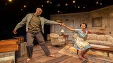Chauncy Thomas and Erin Margaret Pettigrew star in