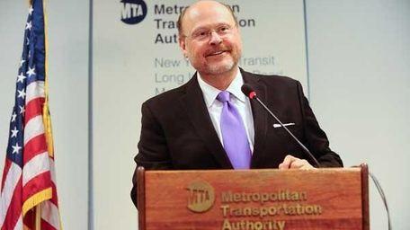 Mayoral candidate and former MTA Chairman Joseph Lhota