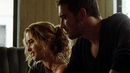 Vahina Giocante and Lee Pace in